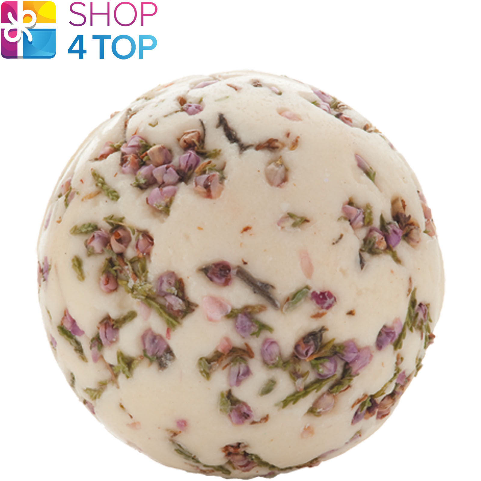Primary image for JASMINE AND COTTON BATH CREAMER BOMB COSMETICS MAGNOLIA HANDMADE NATURAL NEW
