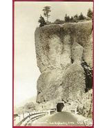 Columbia Hwy Oneonta Tunnel OREGON AZO RPPC - $10.00