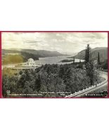 OREGON Columbia River Hwy Vista House Crown Pt RPPC - $7.50