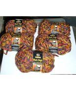Caron Black Magic Yarn-DISCONTINUED-5 skeins of Autumn Shadow - $50.00