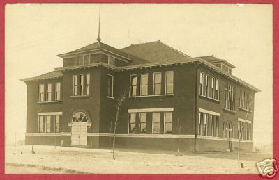 Chickasha OK Postcard South School Oklahoma RPPC BJs