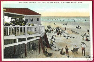 NANTASKET BEACH MASSACHUSETTS Pavilion Beach MA People