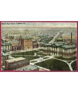 TOLEDO OHIO Birds Eye View Buildings OH - $8.00