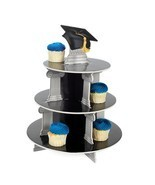 Cupcake Holder for Graduation Event Party Table Decoration Food Sweets S... - £12.54 GBP