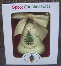 Spode Christmas Tree 1999 First Christmas Together Bell Ornament - $30.00