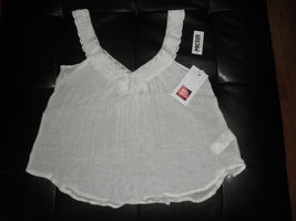 Pac Sun Rip Curl Blouse Ivory Large - Please see pics - $0.99
