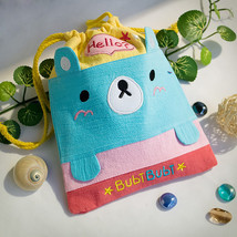 [Bubi Bear] Draw String Bag (6.7*8.5) - $9.99