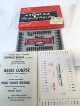 1959 Autobridge Auto Play Yourself Bridge Game PGB Beginners Set w Box U... - $10.00