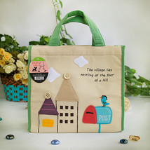 [Bird On Postbox] Lunch Tote (8.7*8*4.4) - $13.99
