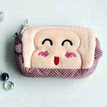 [Childlike Monkey] Wallet PursePouch Bag (5.9 X 3.7 X 1.1 inches) - $10.99
