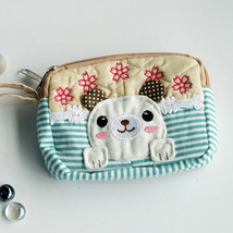 [Cute Dog] Wallet PursePouch Bag (5.1 X 3.9 X 1.1 inches) - $10.99