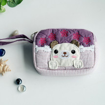 [Pretty Dog] Wallet PursePouch Bag (5.1 X 3.9 X 1.1 inches) - $10.99