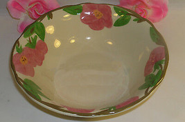 "New Franciscan Desert Rose 9"" Bowl Fruit Salad Vegtable Soup Potato Serving Bowl - $15.29"