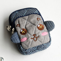[Vivid Monkey] Wallet PursePouch Bag (2.9 X 4.7 X 0.98 inches) - $10.99
