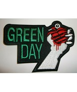 """Green Day~American Idiot~Embroidered Patch~4 1/4"""" x 3 1/8""""~Alt Punk Rock - $4.55"""