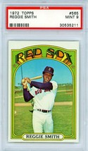 1972 Topps Reggie Smith #565 PSA 9 P914 - $45.39