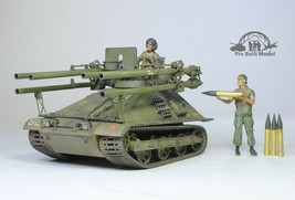 USMC M-50A1 Ontos /w 02 crews Vietnam war 1:35 Pro Built Model - $292.05