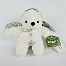 "Dan Dee Collectors Choice Angelica Bear 8"" Plush Angel Bean Bag Friends Wings - $14.52"