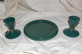 Partylite Greenbrier Taper Pair & 3-wick Party Light - $12.99