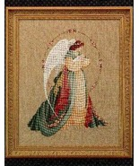 Guardian Angel cross stitch Lavendar & Lace Marilyn Leavitt-Imblum - $10.80