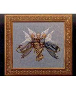 Heavenly Gifts cross stitch Lavendar & Lace Marilyn Leavitt-Imblum - $10.80
