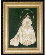 I Thee Wed cross stitch Lavendar & Lace Marilyn Leavitt-Imblum - $12.60