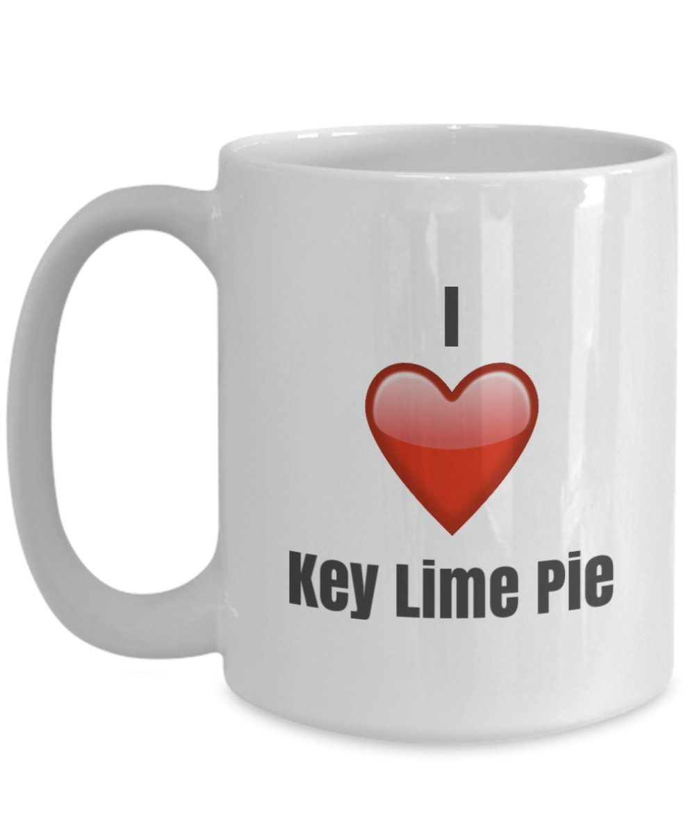 Primary image for I Love Key Lime Pie unique ceramic coffee mug Gifts Idea