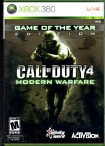 Call of Duty 4 Modern Warfare Game of the Year Edition Xbox 360 - $8.95