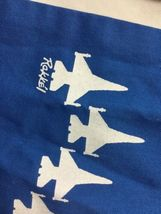 Blue AIR FORCE SQUADRON PILOT SCARF USAF 62nd FIGHTER SPIKE image 3
