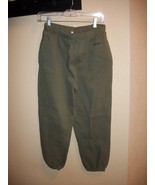 Preowned Boy's Old Navy Army Green Sweatpants Size 14 - $2.50