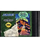 Beauty & the Beast: Roar of the Beast - Sega Genesis Disney Game Cartridge  - $14.00