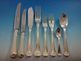 Milano aka Baguette by Ricci 800 Silver Flatware Set Service 152 Pieces - $16,500.00