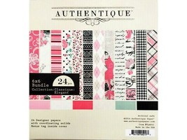 Authentique Bundle Collection: Elegant Paper Pad 6x6 Inch #CLA011