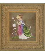 Isabella's Garden cross stitch Lavendar & Lace Marilyn Leavitt-Imblum - $12.60