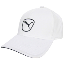 Puma 2.0 White with Black Logo Hat- Adjustable - $18.95