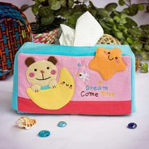 [Bear & Moon] Tissue Box Cover Holder (8.7*4.5*... - $12.99