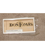 Don Tomas Cigar Empty Box w/o Ceegars - $4.99