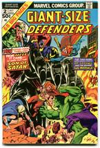 Giant-Size Defenders 2 FN+ 6.5 Marvel 1974 Stan Lee Len Wein Gil Kane - $12.86