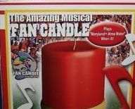 Primary image for NCAA  Maryland TerrapinsTerps Musical Fan Candle