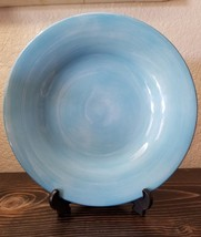 "Tabletops Unlimited ESPANA Sky Blue Dinner Pasta Plate 10-1/2"" - $24.99"