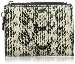 Nine West $30 NWT Slim Small Accessories Wallet Black Ivory Snake Print ... - $18.80