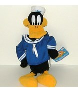 1/2 off! Looney Tunes Daffy Duck Navy Sailer NWT Nanco - £3.57 GBP