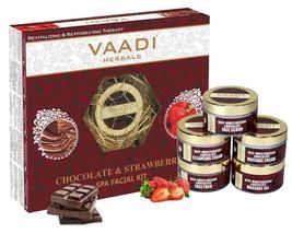 Vaadi Herbals Deep-Moisturising Chocolate Strawberry Facial Kit 270 GM S... - $26.73