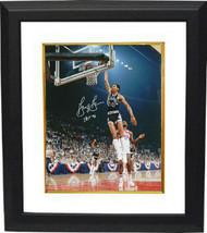 George Gervin signed San Antonio Spurs 8x10 Photo Custom Framed HOF 96 (... - £61.08 GBP