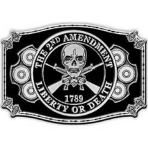 United States American 2nd Amendment Belt Buckle - $18.80