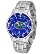 Florida Gators Licensed Men Competitor Steel AnoChrome Watch & Color Bezel - $115.00