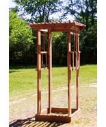 Garden Trellis  Handcrafted Red Cedar 7 ft tall 3 ft wide Quality built - £710.63 GBP