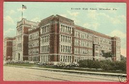 MILWAUKEE WI Riverside High School Wisconsin - $7.50