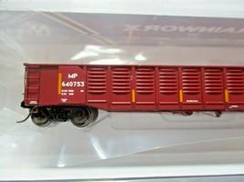 Trainworx Stock # 25203-13 to -18 Mo-Pac/UP Shield 52' Gondola N-Scale image 2