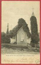 Tacoma Washington Church Bell Tower 1909 Postcard BJs - $6.00